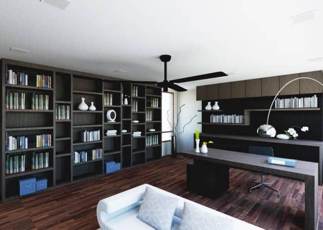 minimalist home interior at florissa park