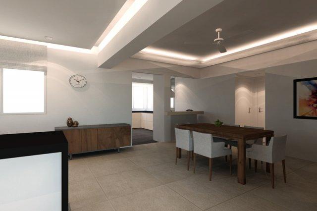 interior design of loyang valley dining room