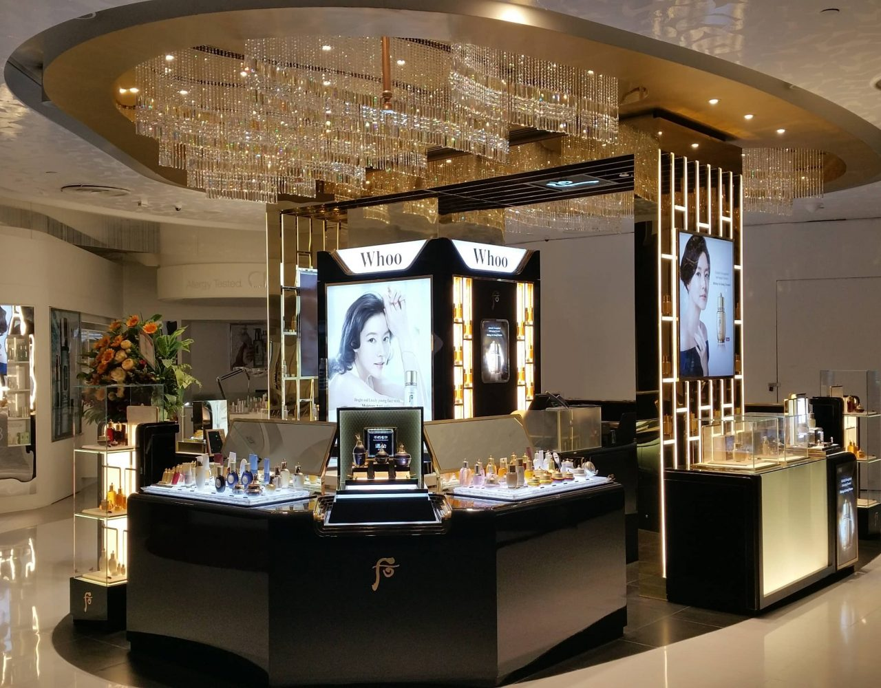 retail design for whoo