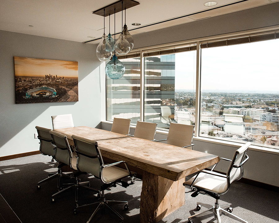 modern office interior design meeting room