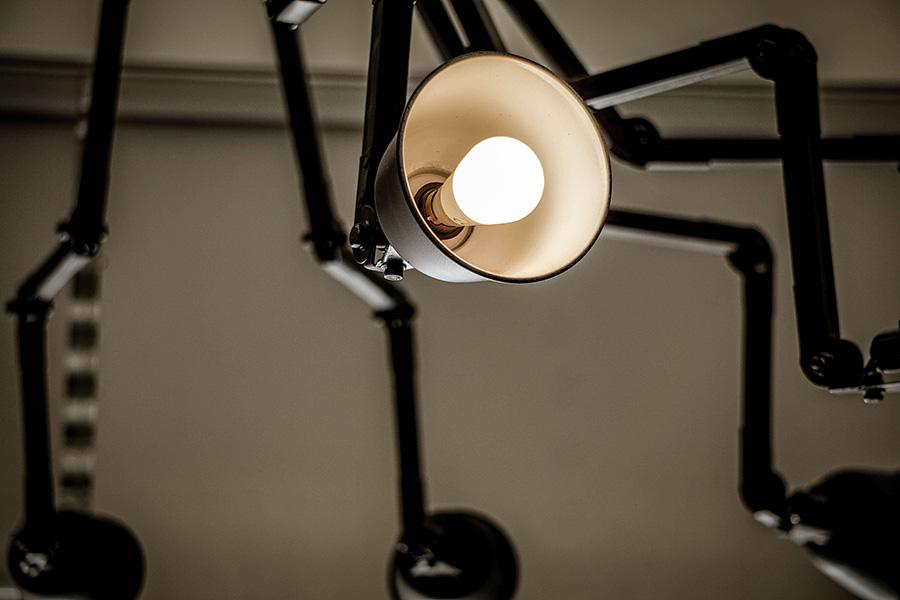 warm light for interior design for commercial