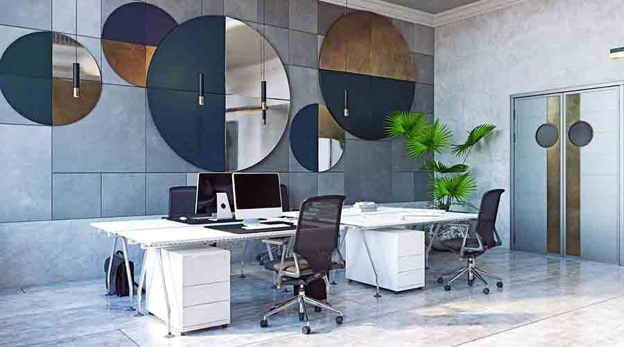 contemporary modern office interior designs