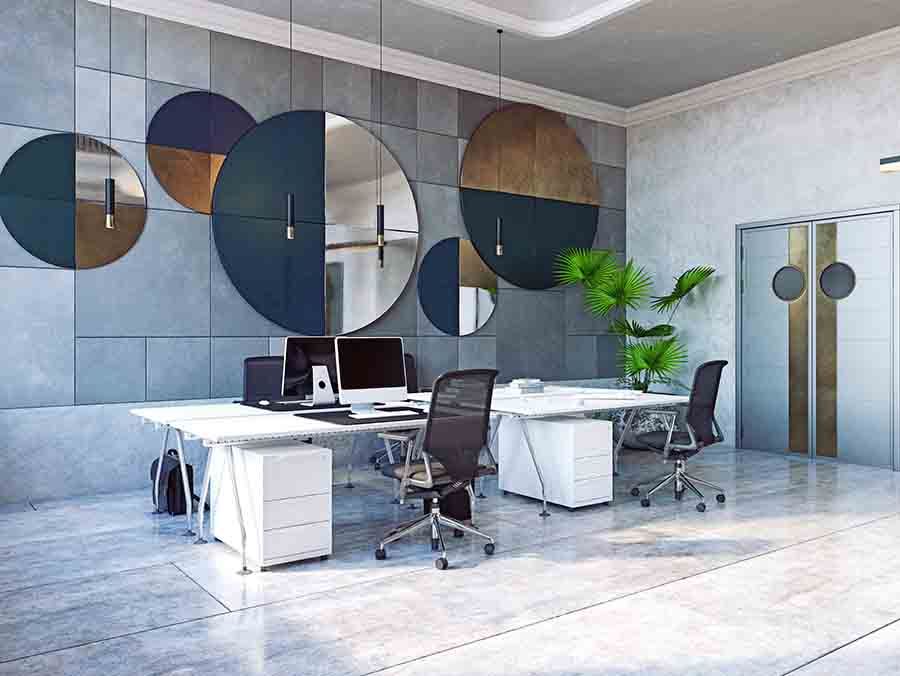 contemporary modern office interior designs