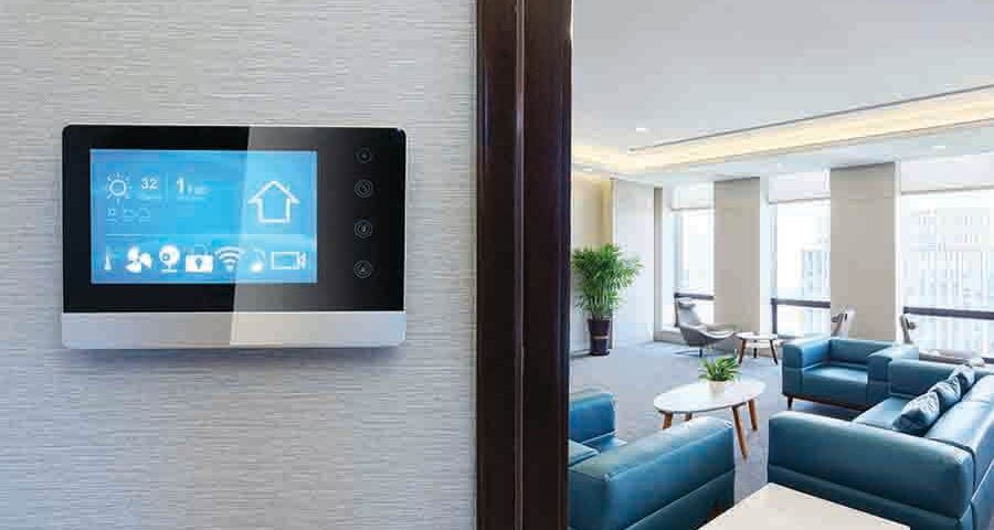 residential interior design of a smart home