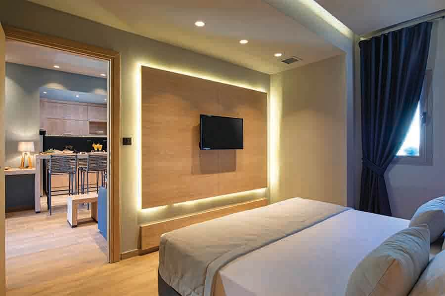 smart lighting designed by professional interior design services