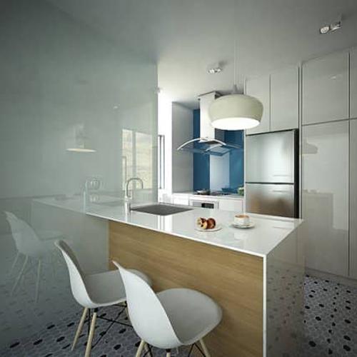 mcnair rd interior design of kitchen