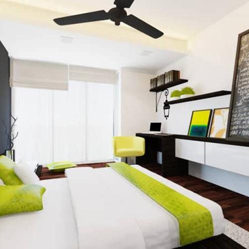 interior design of florissa park bedroom