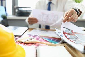 choosing colour palette for residential interior design
