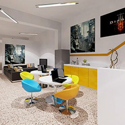 office lounge interior