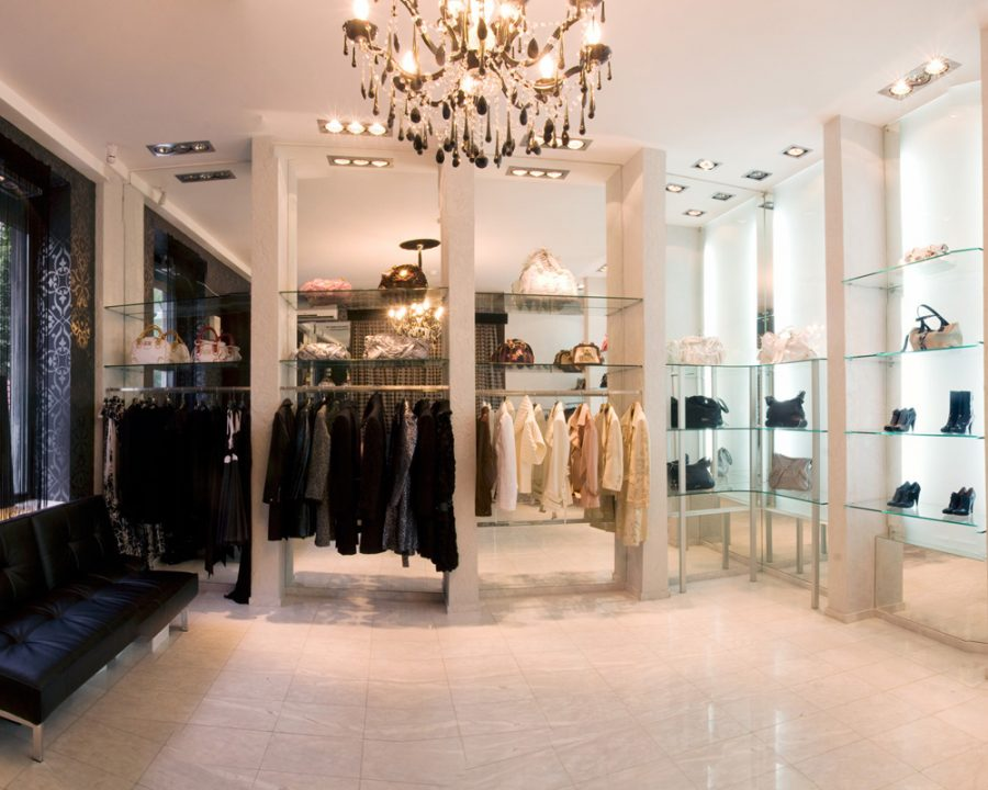 luxury interior design for retail stores